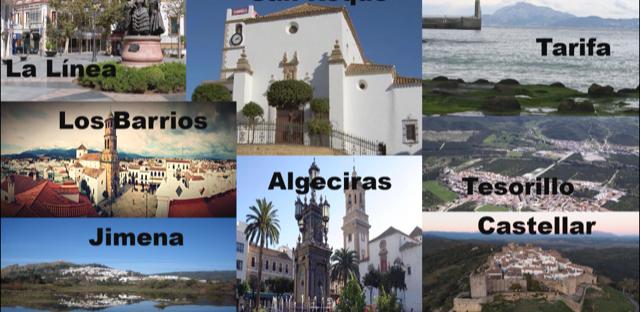 Municipios Comarca Campo de Gibraltar